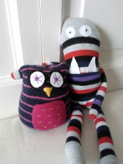 Recycled childrens clothing toys